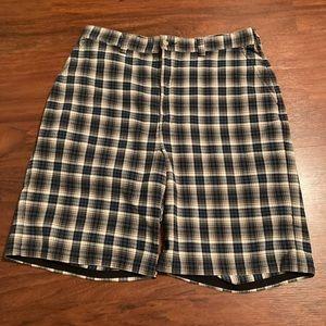Polo Ralph Lauren blue plAid shorts 34 waist